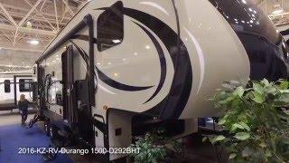 2016 KZ RV Durango 1500 D292BHT