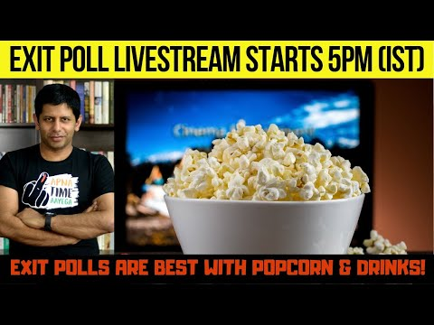 NDA WINS EXIT POLL PARTY!!! - Live Streaming all the TV Tamasha online! (get your popcorn)