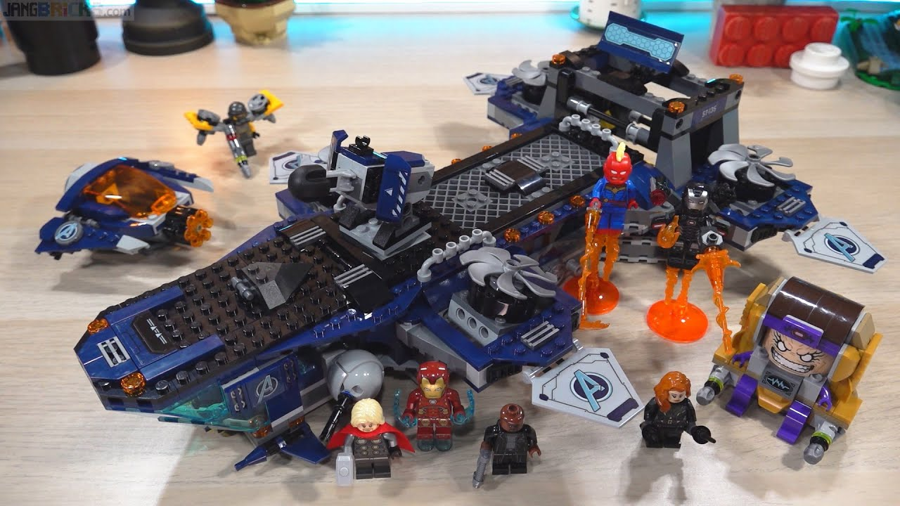 Build ⏩ LEGO Marvel Avengers Helicarrier 76153