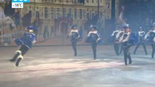 Новогоднее шоу   Три мушкетера вышли на лед