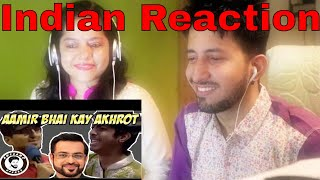 Indian Reaction | AAMIR BHAI KAY AKHROT | AWESAMO SPEAKS (EID SPECIAL)