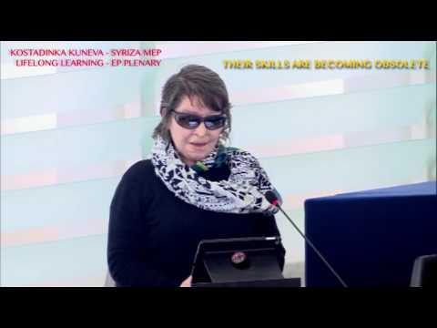 Η Κ Κούνεβα για τη Δια Βίου Μάθηση στην Ολομέλεια - 15.5.2017