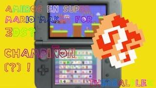 Champiñon Misterioso (?) en Super Mario Maker for 3DS !!!