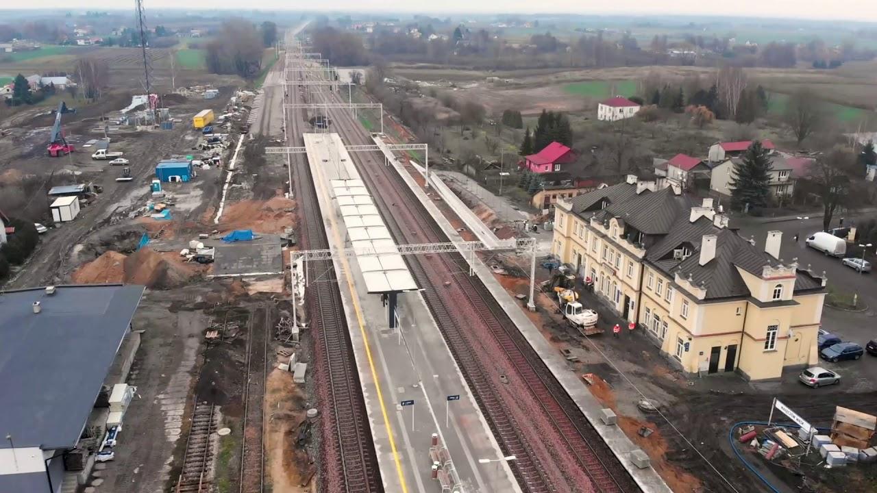 Warszawa-Lublin – postępy w modernizacji linii nr 7