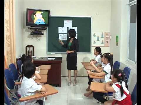 Phương pháp giảng dạy Tiếng Anh cho trẻ em - Bài 2