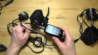 Обзор и сравнение передних велофар с отдельным аккумуляторным блоком.