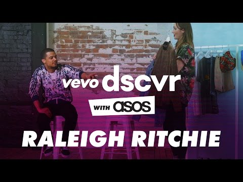 Raleigh Ritchie - Bloodsport behind the scenes interview | VEVO DSCVR with ASOS
