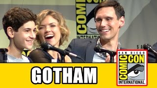 Gotham Comic Con 2015 Panel - Season 2, Ben McKenzie, Camren Bicondova, Erin Richards, Sean Pertwee