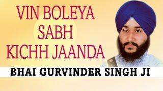 Bhai Gurvinder Singh Ji - Vin Boleya Sabh Kichh Jaanda