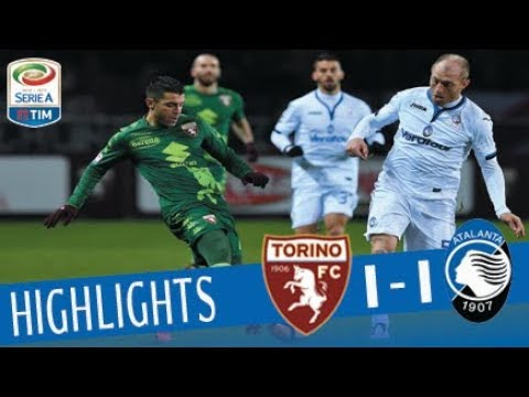 Torino - Atalanta 1-1 - Highlights - Giornata 15 - Serie A TIM 2017/18
