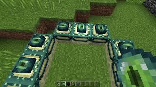 Minecraft  Showing my house and learning how to make end Portal