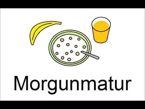 Icelandic Lesson #50: Breakfast, Lunch, Dinner - Pronunciation