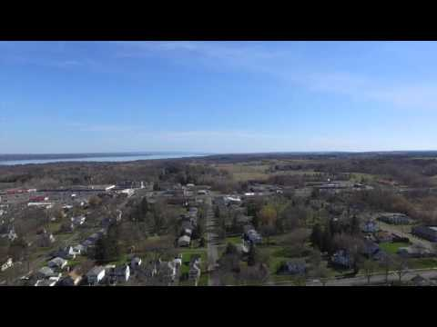 Geneva NY from 400 feet