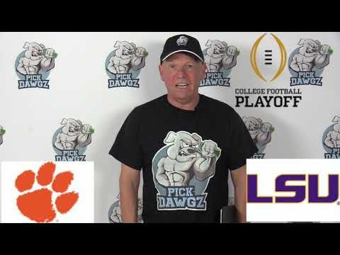 LSU vs Clemson 1/13/20 Free College Football Pick and Prediction: College Football Championship