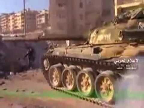 SYRIA ARAB IN ACTION LIBERATING EAST ALEPPO