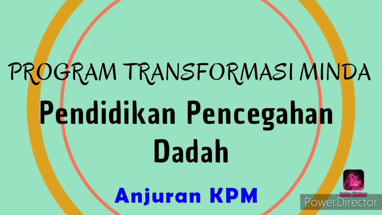 Program Transformasi Minda Kpm 2020