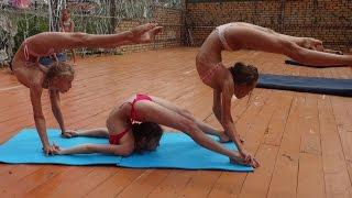тренировка - спортивная акробатика acro training