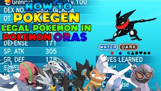 How to PokeGen Legal Pokemon - How to PokeGen - How to PKHeX Legal Pokemon in Pokemon ORAS Tutorial