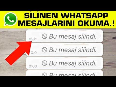 WhatsApp'ta 'Herkesten' Silinen Mesajlar Nasıl Okuyabilirsiniz ? 5 Yeni Whatsapp Hilesi.