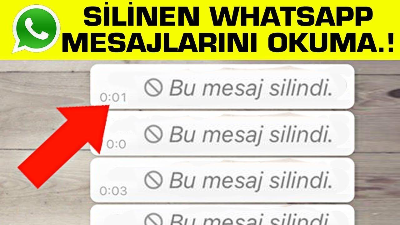 WhatsApp'ta 'Herkesten' Silinen Mesajlar Nasıl Okuyabilirsiniz ? 5 Yeni Whatsapp Hile