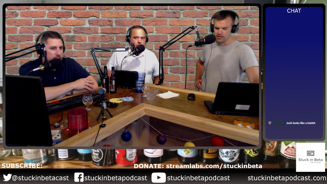 Stuck in Beta Podcast – Three guys from STL discuss the typical