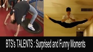 When BTS Show Their Hidden Talents (Funny moments)