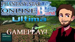 Phantasy Star Online Blue Burst | Gameplay | Ultima Server | Alredix
