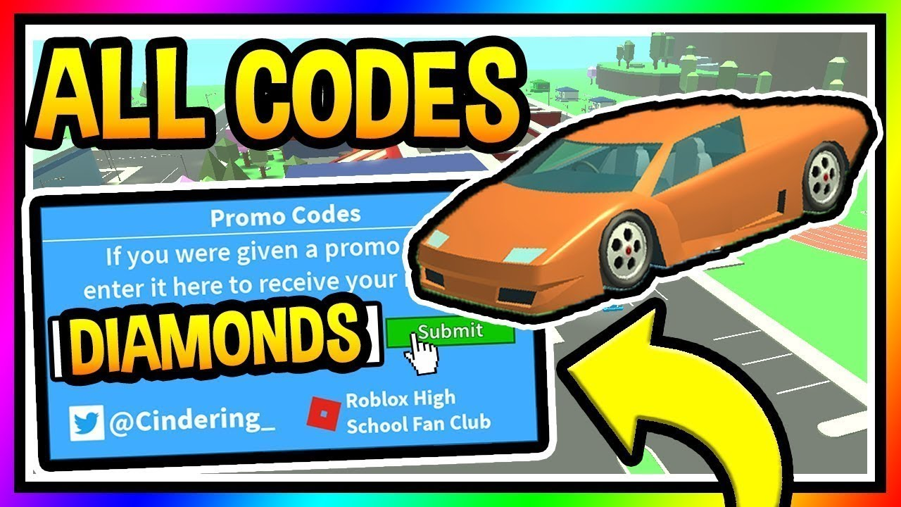 Codes for robloxian high school 2019 september