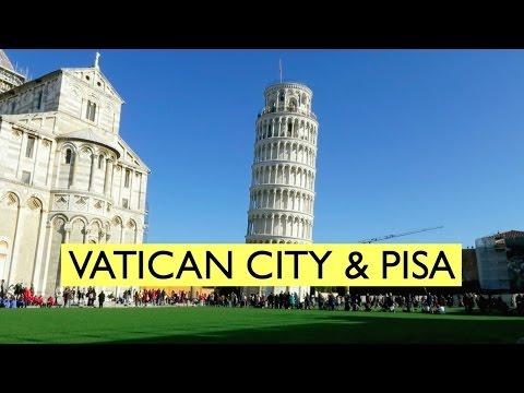 TRAVEL VLOG : Vatican City , Pisa | Italy