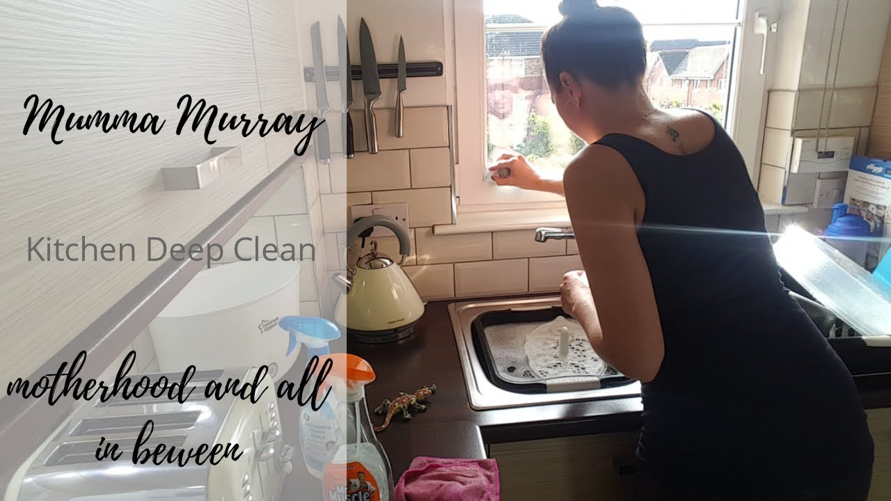 Kitchen Deep Clean Ive Been Hinched Mummamurray Youtube