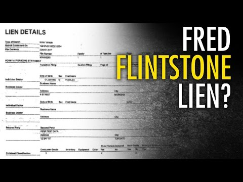 ON woman forced to pay for removal of fake Flintstone lien