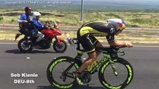 Kona Ironman World Championships 2015 Pro Men Bike Mile 110 Super Slo-Mo