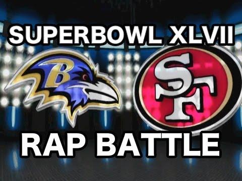 SUPERBOWL RAP BATTLE  @RAVENS VS @49ERS  FEAT CHAD JAMES
