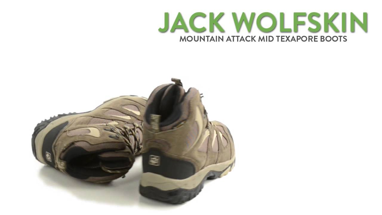 dc14e6e40e9 Jack Wolfskin Mountain Attack Mid Texapore Boots - Waterproof (For Women)
