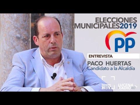 VÍDEO: ELECCIONES MUNICIPALES LUCENA 2019: Entrevista a PACO HUERTAS (PP)