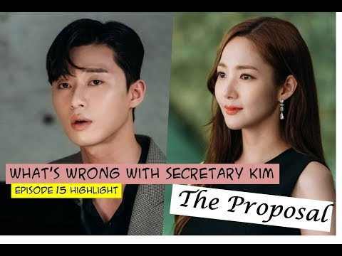What's Wrong With Secretary Kim Episode 15 Highlight - The Proposal
