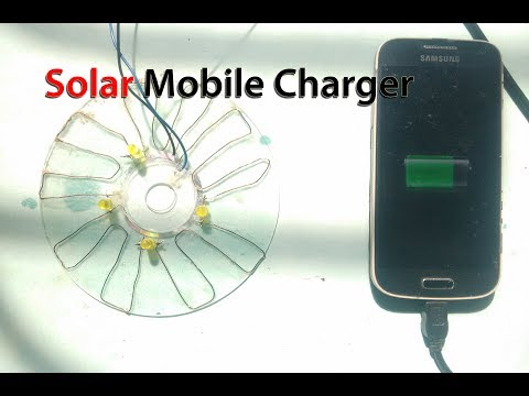 Free energy solar mobile Charger make easy