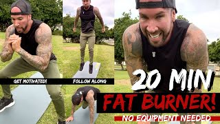 BURN FAT and GET FIT in 20 Minutes! FULL Workout!
