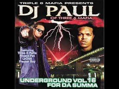 DJ Paul (Three 6 Mafia) - Break Da Law