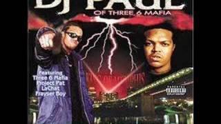 DJ Paul (Three 6 Mafia) - Break Da Law