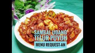 Resep Sambal Udang Dengan Telur Puyuh -Resep Masakan Nusantara - masak itu mudah ..
