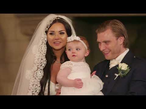 Edinburgh Castle wedding video   Amanda & Stephen   Butterfly Films