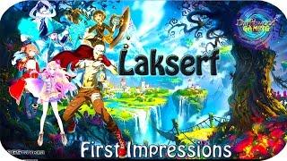 Lakserf Beta - First Impressions - RPG Maker MV Game - RPGMMV - RMMV Tutorial