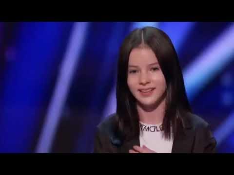 Audition of Daneliya Tuleshova, AGT, THE VOICE KIDS, THE WORLD'S BEST - Jen-Mysha-Erica TV Channel