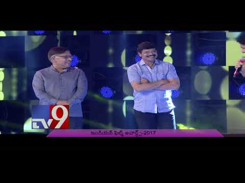 Naga Chaitanya wins Best Actor Award || Santosham South Indian Film Awards 2017 - TV9 NOW