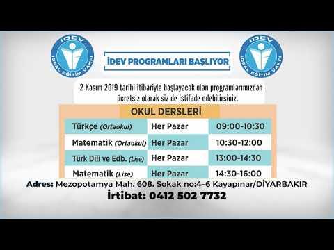İdev Programları/Okul Dersleri