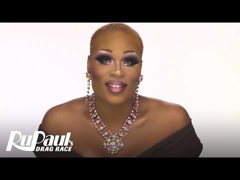 Drag Makeup Tutorial: Peppermint's Train Transformation | RuPaul's Drag Race Season 9 | Now on VH1