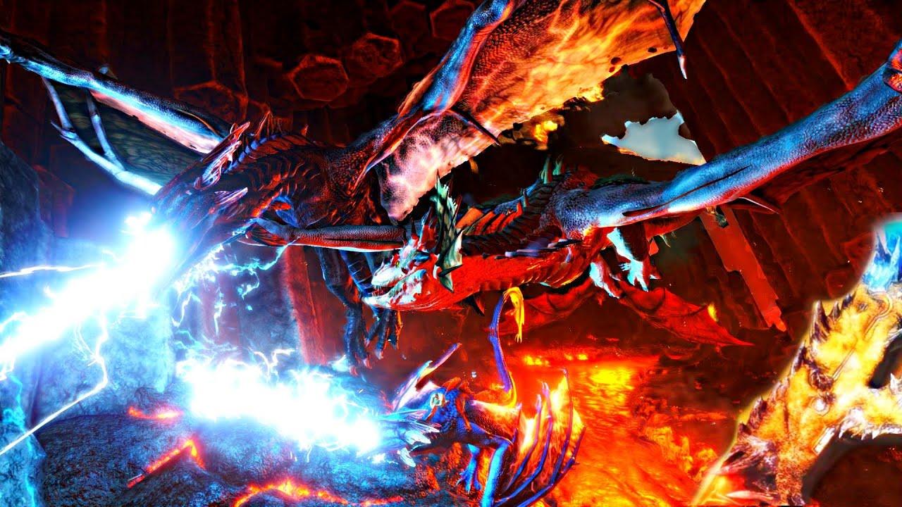 Lightning Dragons Vs Fire Dragon | www.pixshark.com ...
