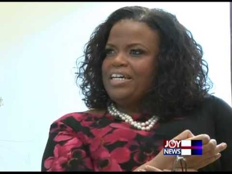 Personality Profile Friday with Mrs Rosa Whitaker Duncan Williams - PM Express (5-4-13)