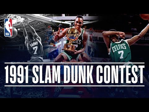 Dee Brown Wins the #ATTSlamDunk Contest in 1991